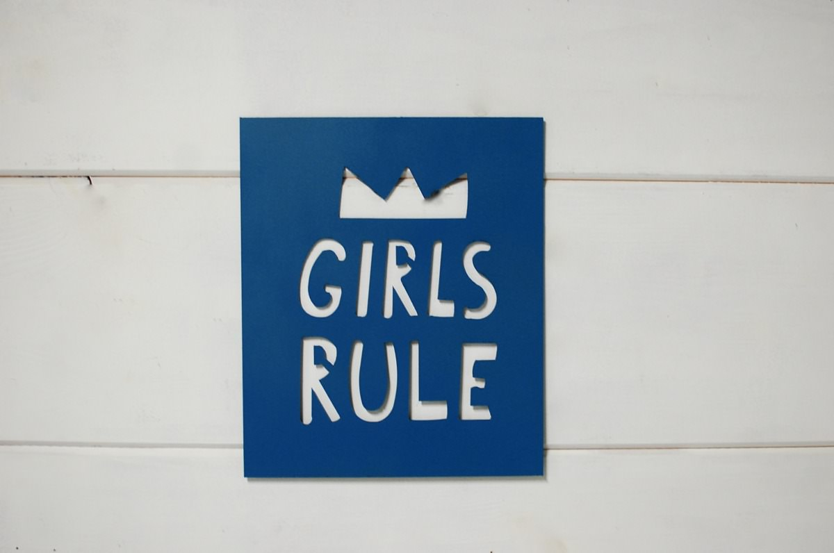 Quot Girls Rule Quot Bedroom Wall Decor Southern Sunshine