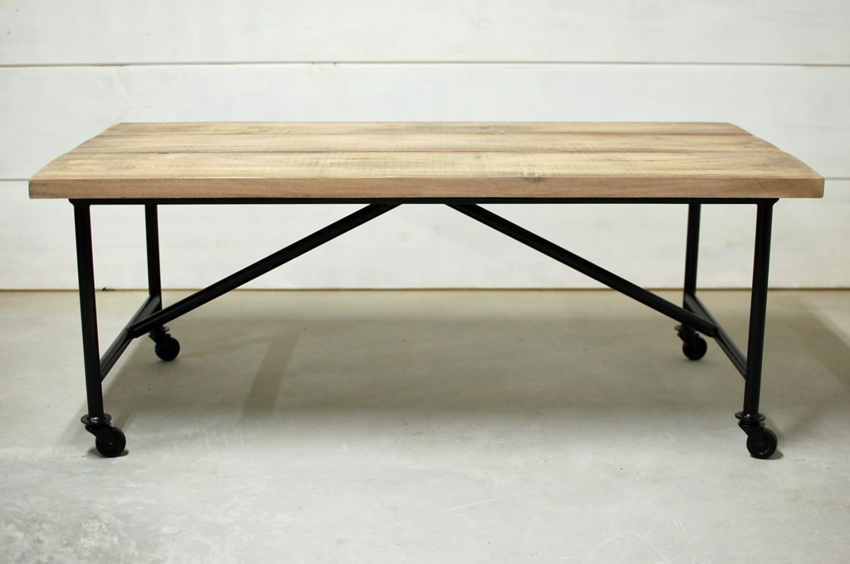Waco industrial farmhouse coffee table southern sunshine Farmhouse coffee tables