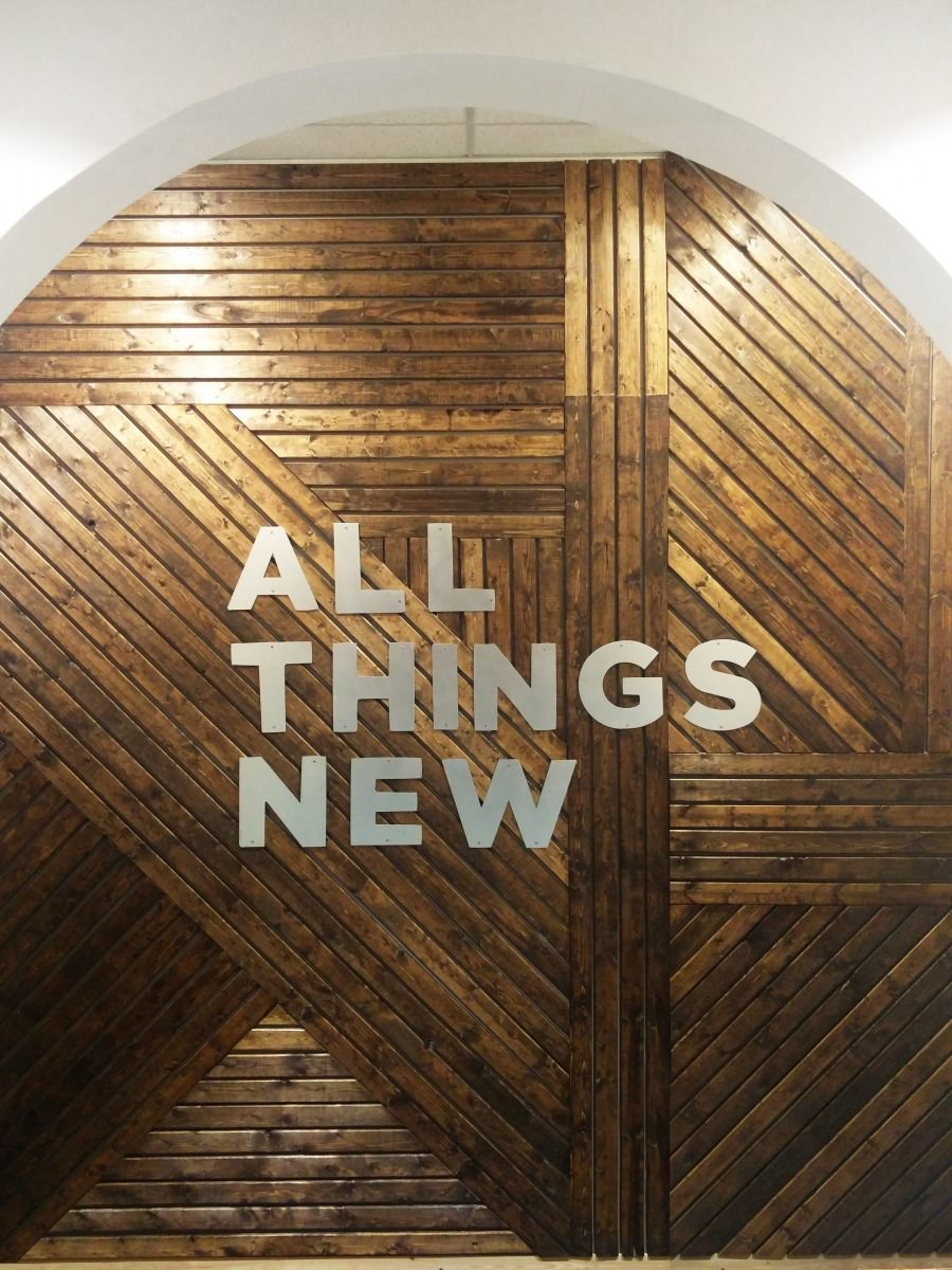 Southern Sunshine - All Things New Modern Wall