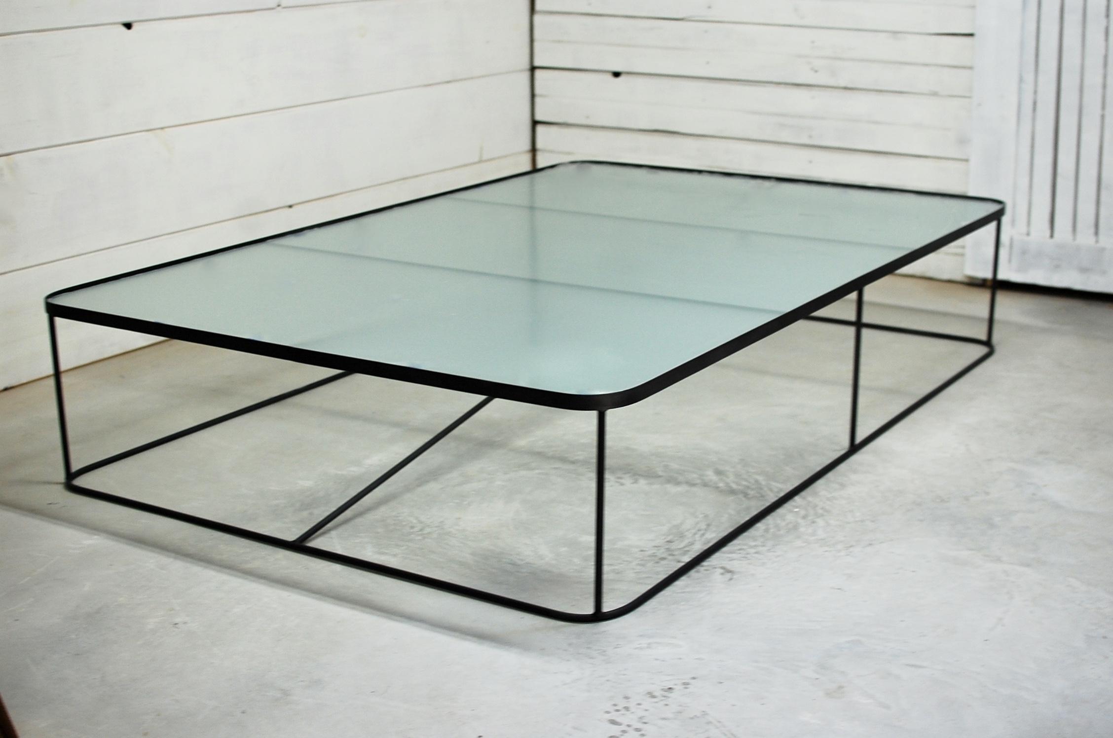 Calypso Square Glass Coffee Table Southern Sunshine