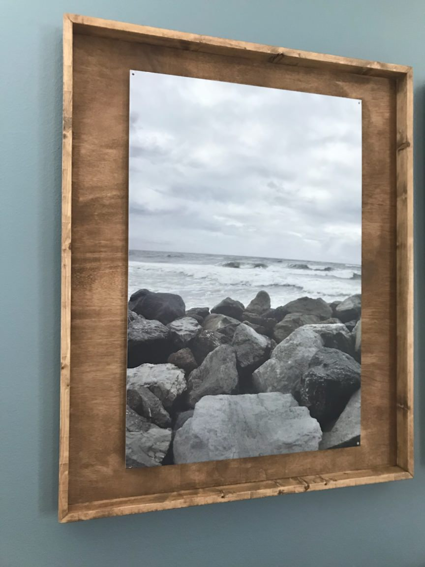 Wood Shadowbox Picture Frames • Southern Sunshine