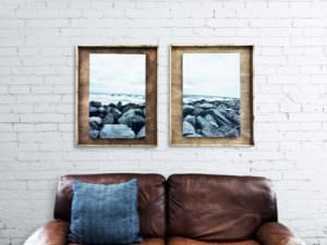 Wood Shadowbox Picture Frames