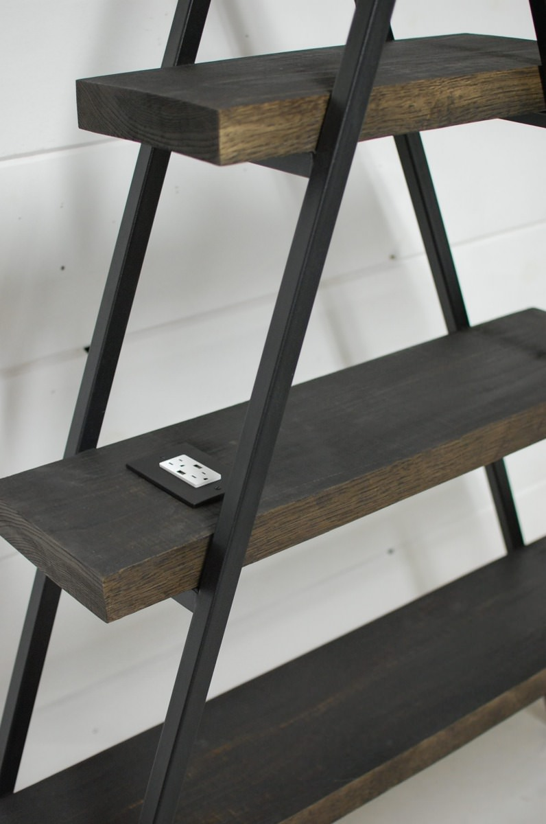 A Frame Bookcase With Usb Charger Southern Sunshine