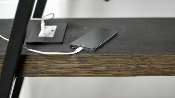 USB Charging Bookcase and Tables