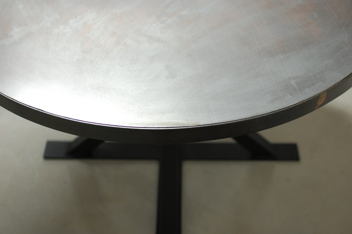 Round Zinc Table Tops Only Southern Sunshine