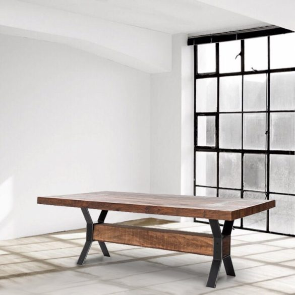 Preston X-Frame Dining Table