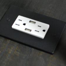 USB/Outlet Charging Station