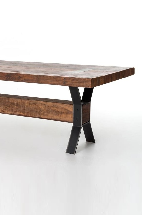 Preston X-Frame Dining Table