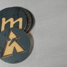 Round Metal Coasters