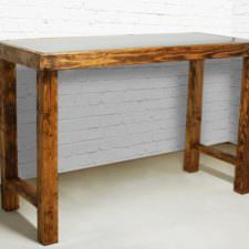 Declan Zinc Bar Table