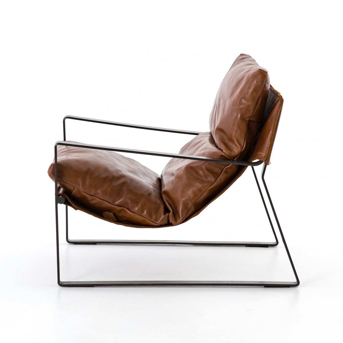 Leather Sling Chair Southern Sunshine