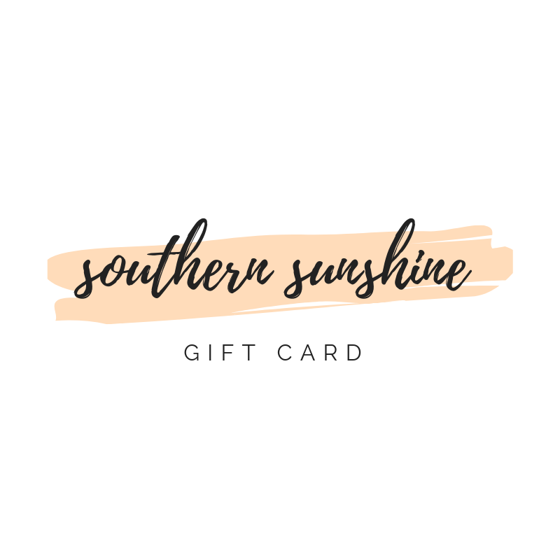 Southern Sunshine Gift Card