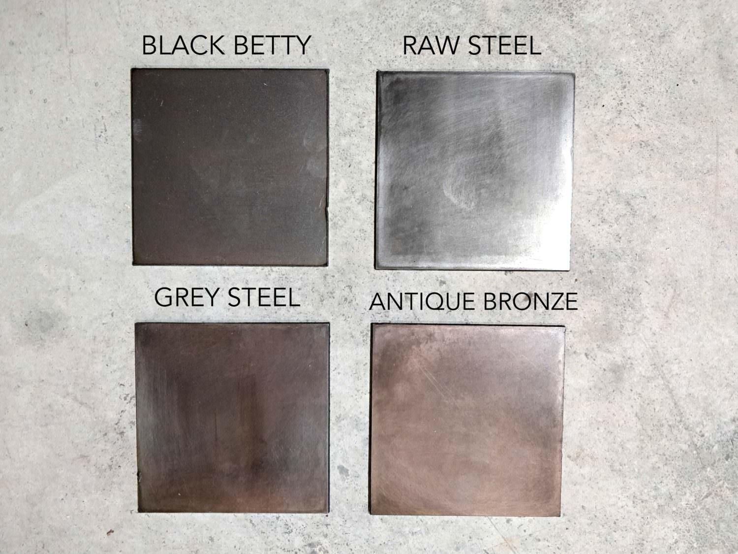 Galvanized Patina Metal