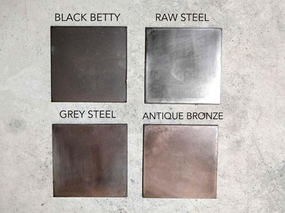 Galvanized Patina Metal