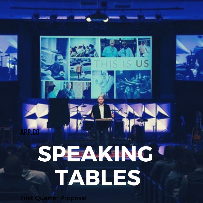 Speaking Tables