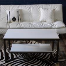 Marble Two Tier Coffee Table
