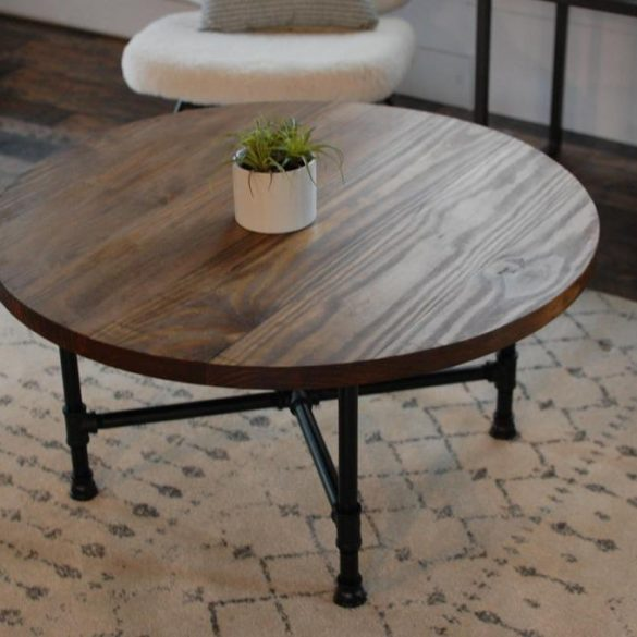 Falabella Round Coffee Table